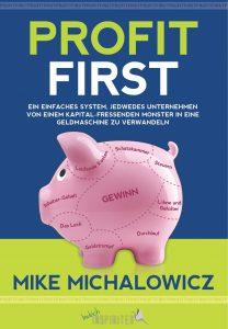 Profit First Buchcover von Mike Michalowicz